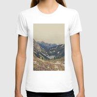 mountain T-shirts featuring Mountain Flowers by Kurt Rahn