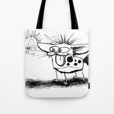 Hyena and the Spider whisker whisk  Tote Bag