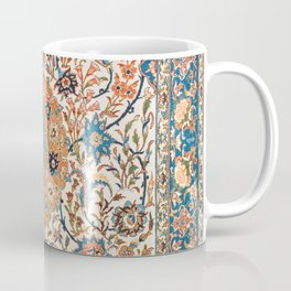 Isfahan Antique Central Persian Carpet Print Coffee Mug