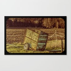 small Trailer Canvas Print
