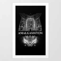 Amalgamation #4 Art Print