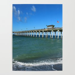 Winter In Florida Poster
