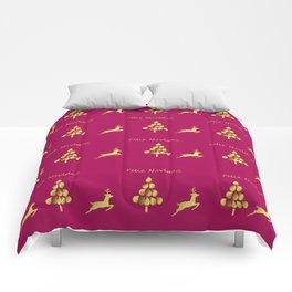 Feliz Navidad 1 Comforters