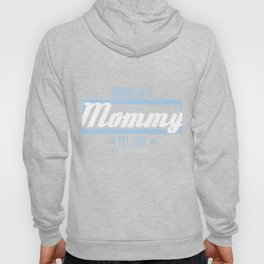 """Promoted To Mommy"" tee design. Perfect gift for your friends and family this holiday! Go get it now Hoody"