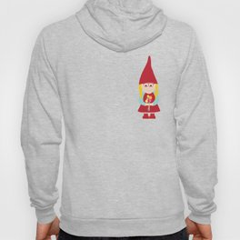 gnome girl with flowers Hoody