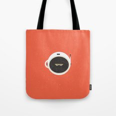 The Spaceman on Mars Tote Bag