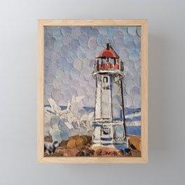 """"""" Lighthouse """" Framed Mini Art Print"""