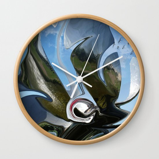 chromium 24 Wall Clock