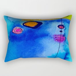 Magical Thinking No. 2C by Kathy Morton Stanion Rectangular Pillow