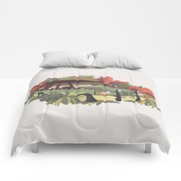 Jurassic Car Comforters