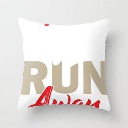 Python Rabbit Throw Pillow