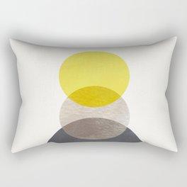 SUN MOON EARTH Rectangular Pillow