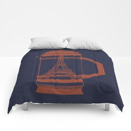 French Press... (Navy) Comforters