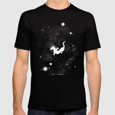 Otter Space Black LARGE Mens Fitted Tee