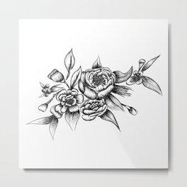 Flower Arrangement 01 Metal Print
