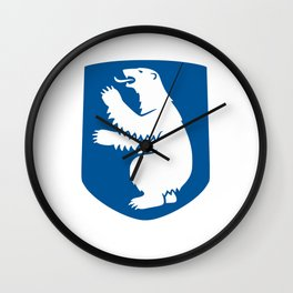 coat of arms of greenland Wall Clock