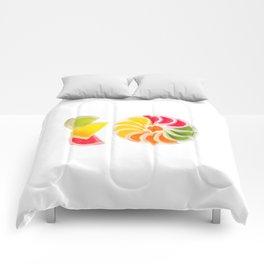 Plenty multicolored chewy gumdrops Comforters