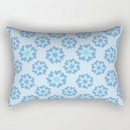 ENLIGHTENED Lotus Pattern Rectangular Pillow