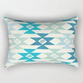 Triaqua Rectangular Pillow