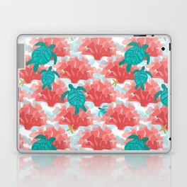 Sea Turtles in The Coral - Ocean Beach Marine Laptop & iPad Skin