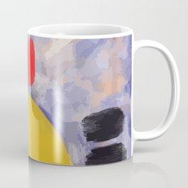 Yellow Circle Abstract #art Coffee Mug