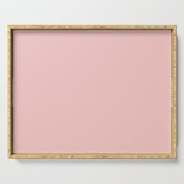 ENGLISH ROSE soft pastel solid color Serving Tray