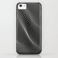 Minimal curves black Slim Case iPhone 5c