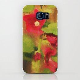 Hollyhock iPhone Case