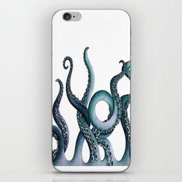 Kraken Teal iPhone Skin