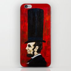 Abraham Lincoln -f iPhone & iPod Skin