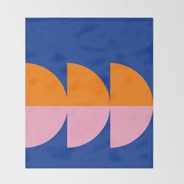 Spring- Pantone Warm color 02 Throw Blanket