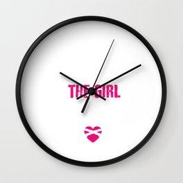 Gun Safety Funny Graphic T-shirt Wall Clock