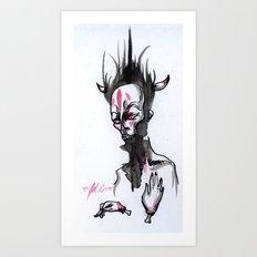 Gurgle 2 Art Print