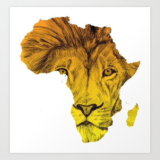King Of The Jungle! Art Print