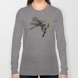 Fire-breathing Dragonfly Long Sleeve T-shirt