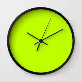 Bitter Lime Wall Clock