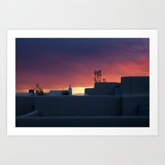 NM Sunset 1 Art Print