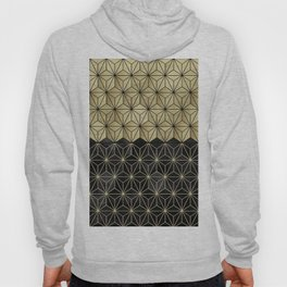 Gold Black Geo Glam #1 #shiny #geometric #decor #art #society6 Hoody