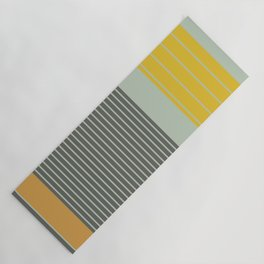 Stripe Pattern III Yoga Mat