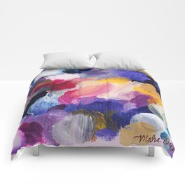 Robbie Abstract Painting Comforters