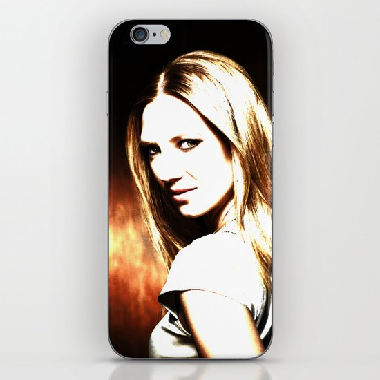 OLIVIA DUNHAM iPhone & iPod Skin