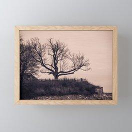 By The Shore Framed Mini Art Print