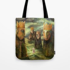 In the Company of Kings Tote Bag