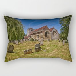 St Mary The Virgin Ringmer Rectangular Pillow