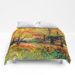 Fall Landscape Comforters