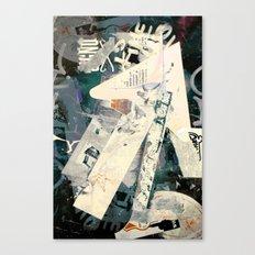 Collide 5 Canvas Print
