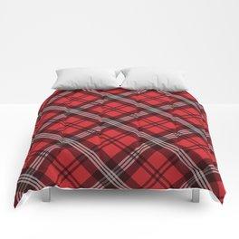 Scottish Plaid (Tartan) - Red Comforters