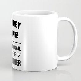 Clarinet Wife Like A Normal Wife Just Louder Coffee Mug