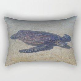 Honu Swimming Rectangular Pillow