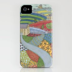 island patchwork Slim Case iPhone (4, 4s)